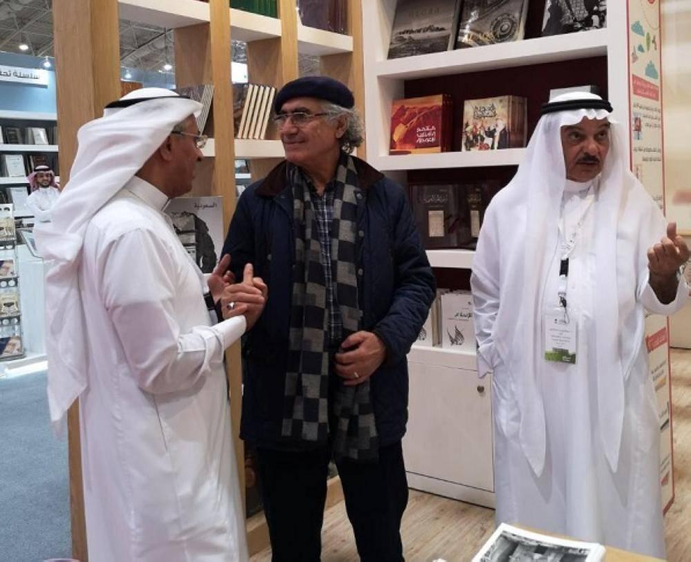 مكتبة المؤسس أيقونة ثقافية في معرض الرياض الدولي للكتاب ٢٠١٩ م