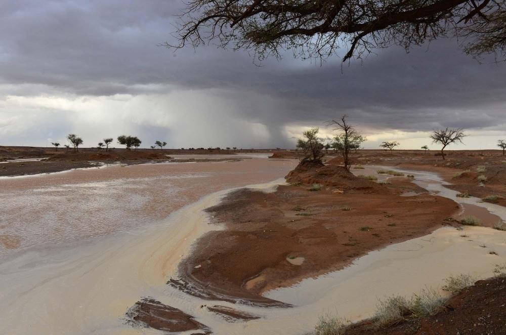 انخفاض على درجات الحرارة.. وأمطار على معظم مناطق المملكة