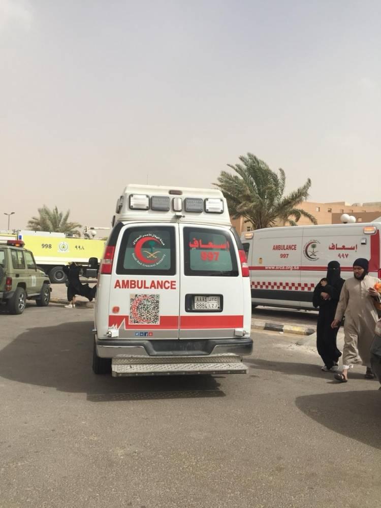 بريدة: حريق في «الكلية التقنية» يصيب 9 طالبات.. وحالتهن مطمئنة