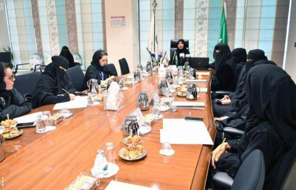 جانب من إعلان جامعة الأميرة نورة الفائزات بجائزتها التميز النسائي
