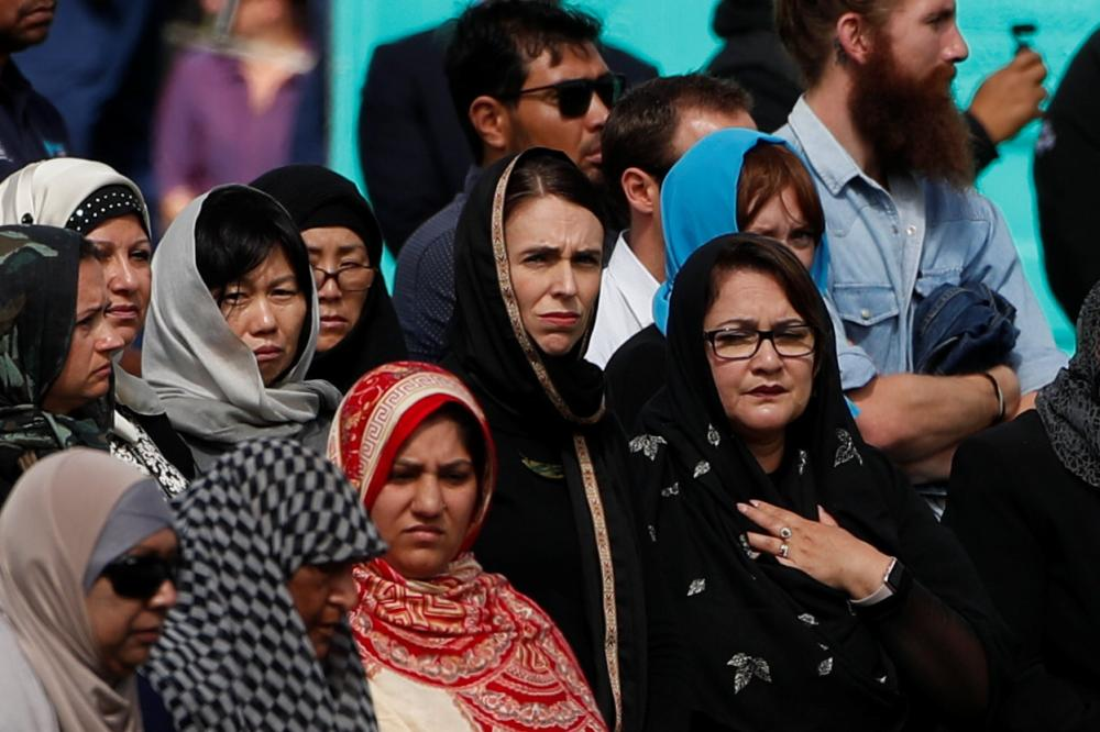 تشييع رسمي وشعبي لضحايا الهجوم الإرهابي في كرايست تشيرش