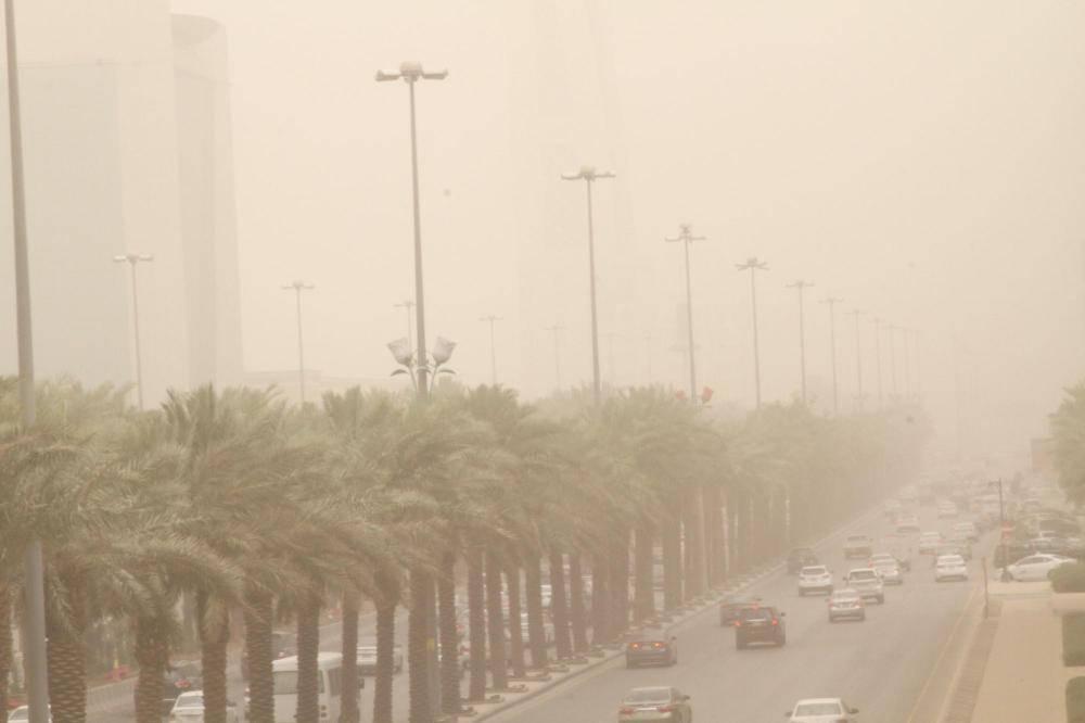 غبار على الرياض «أرشيفية»