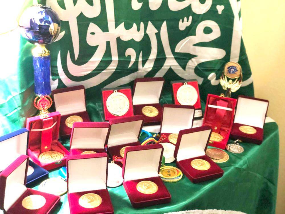 ميداليات حققتها المخترعات السعوديات.