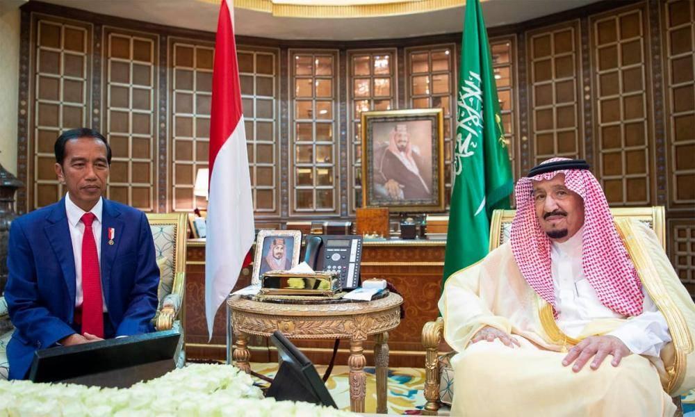 خادم الحرمين الشريفين يعقد جلسة مباحثات مع رئيس جمهورية اندونيسيا 1219956.jpg