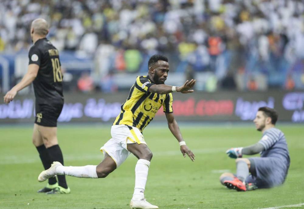 فرحة المولد بتسجيل الهدف الثالث في مرمى النصر.