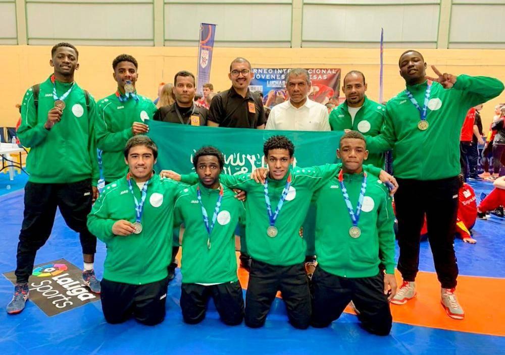بـ14 ميدالية.. أخضر المصارعة وصيفاً لبطولة إسبانيا الدولية