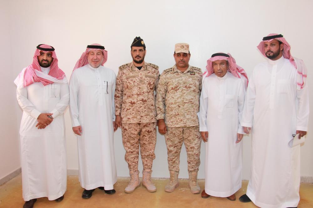 ضباط وأفراد «خالد السكنية» بالحرس الوطني يتسلمون الفلل