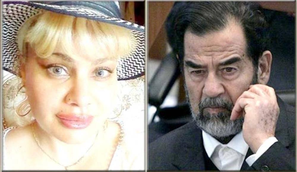 صدام وابنته المزعومة.