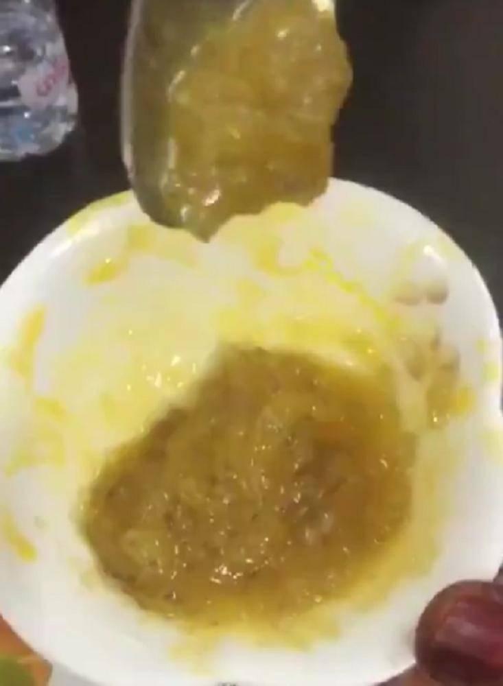 صورة من مقطع الفيديو المتداول.
