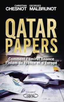 غلاف كتاب «قطر بيبرز».