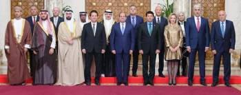 السيسي مستقبلا وزراء الرياضة العرب.