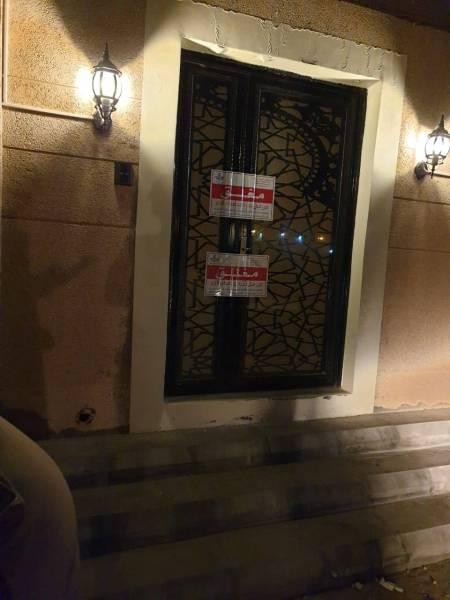 8 مخالفين يديرون مقهى في مجمع سكني