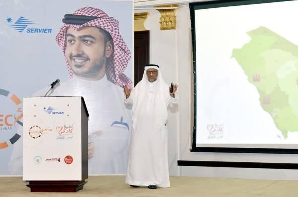 الشرفا خلال إطلاق حملة الكشوفات المجانية للمواطنين والمقيمين.