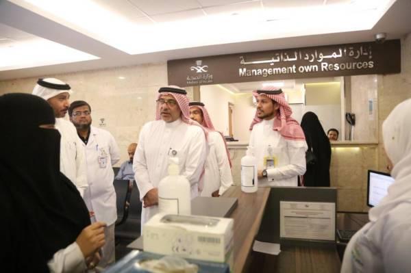 وكيل وزارة الصحة يقف على جاهزية الخدمات الطبية للمعتمرين بمكة