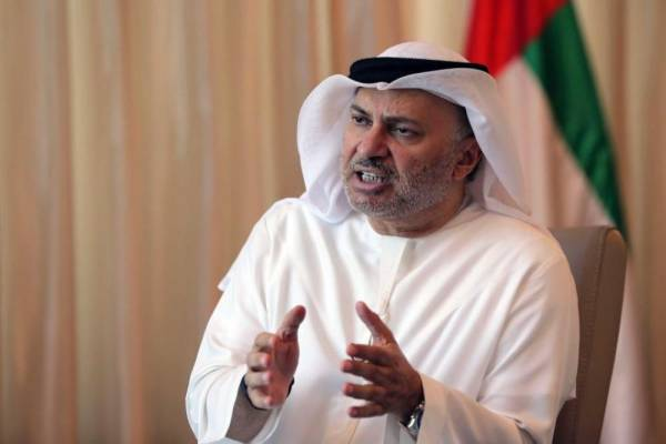 قرقاش: قطر زوَّرت تقارير الوفود الأجنبية لحقوق الإنسان