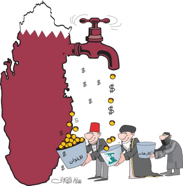 «نظام الحمدين» حوّل قطر إلى بؤرة للإرهاب