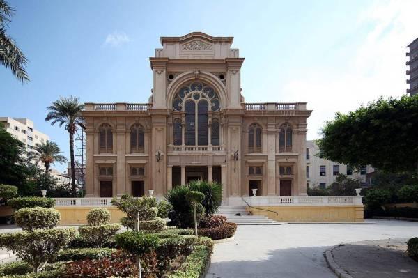 كنيس النبي إلياهو في الأسكندرية – مصر