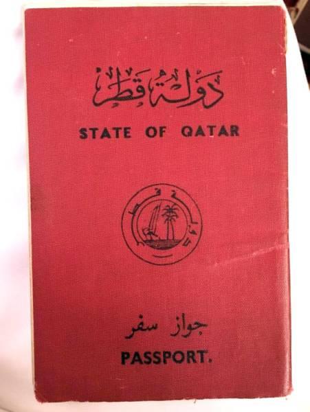 جواز قطري منتهي الصلاحية لأحد أبناء الغفران.