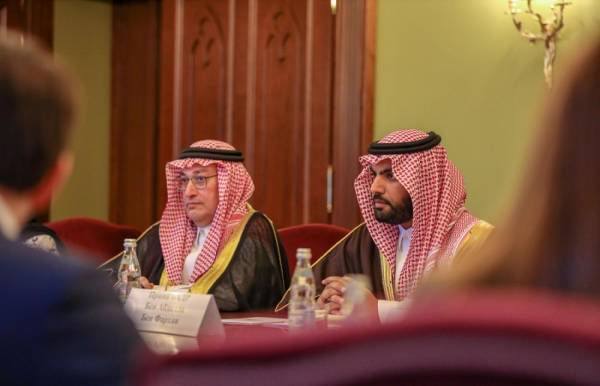 بدر بن فرحان يبحث العلاقات الثقافية مع نائب رئيس الوزراء ووزير الثقافة الروسيين