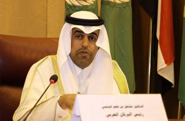 البرلمان العربي: استهداف محطتي النفط عمل إرهابي جبان