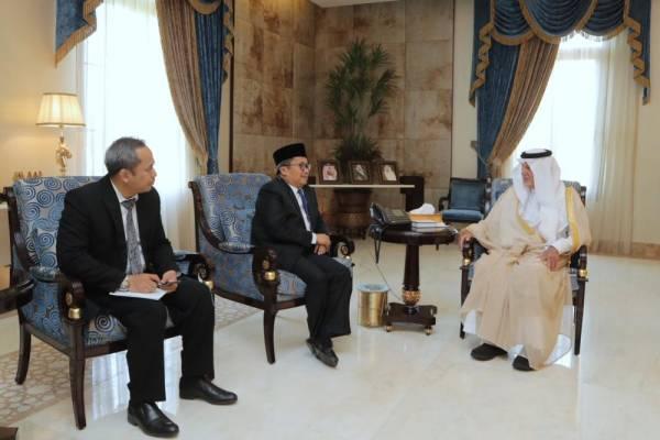 أمير منطقة مكة يستقبل القنصل الإندونيسي