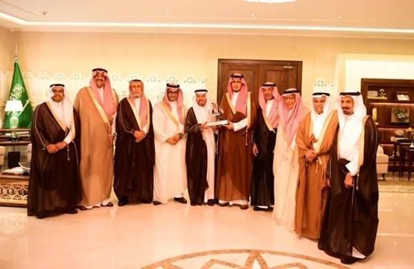 «أحمد بن فهد» يستقبل أعضاء مجلس إدارة «بناء» لرعاية الأيتام