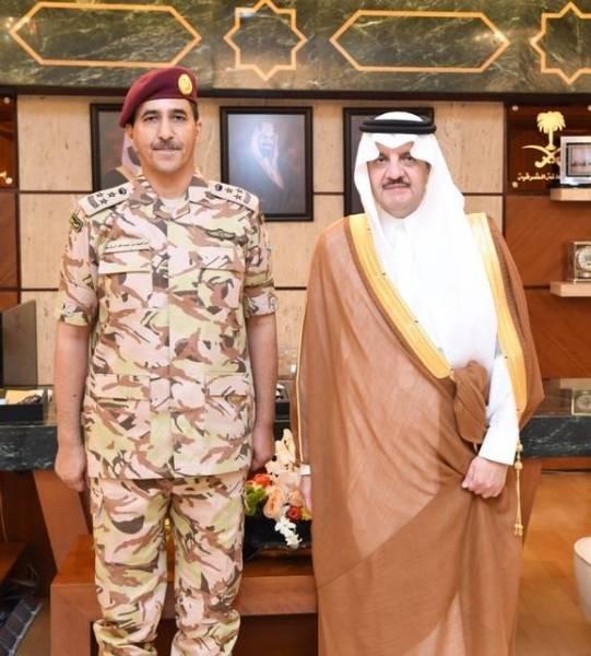 «سعود بن نايف» يقلد الرشيد رتبته الجديدة