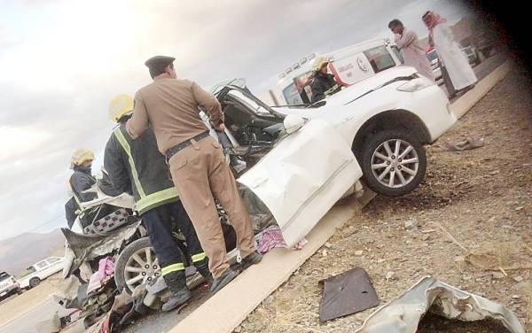 حادث مروري في الباحة.