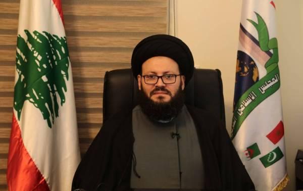 الأمين العام للمجلس الإسلامي العربي في لبنان الدكتور السيد محمد علي الحسيني