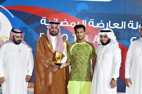عبدالرحمن شريفي من فريق البواسل.