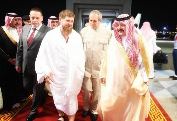 الرئيس الشيشاني يصل إلى جدة