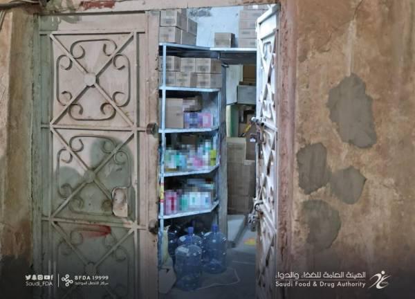 الرياض: ضبط بيت شعبي يُخزّن آلاف المستحضرات الصيدلانية المخالفة