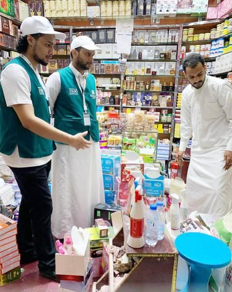 إحدى الجولات التفتيشية في منطقتي مكة والمدينة.
