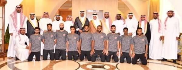 «سعود بن نايف» يستقبل رئيس وأعضاء ولاعبي نادي الثقبة