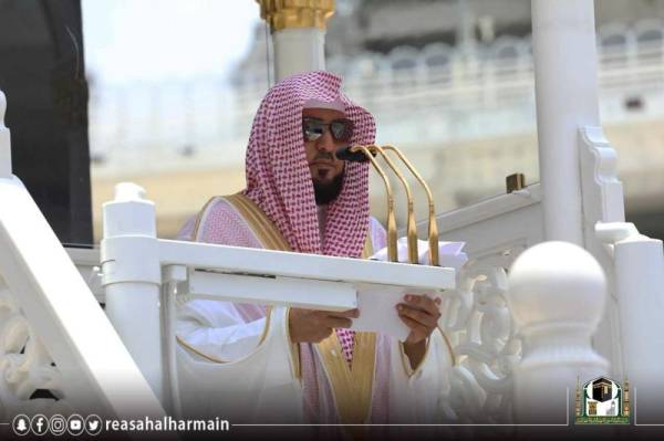 خطيب المسجد الحرام: من علو النفس وكرامتها أن لا يأخذ الزوج من مال زوجته شيئاً - أخبار السعودية   صحيفة عكاظ