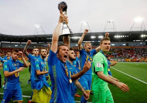أوكرانيا تحقق لقب كأس العالم تحت 20 عاماً