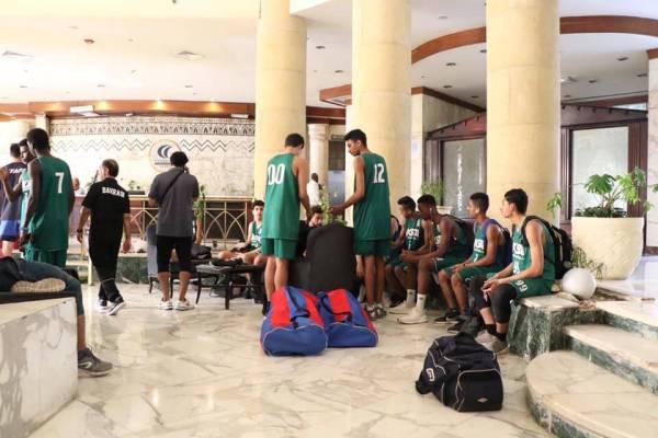 أخضر السلة للناشئين يواجة تونس في افتتاح البطولة العربية