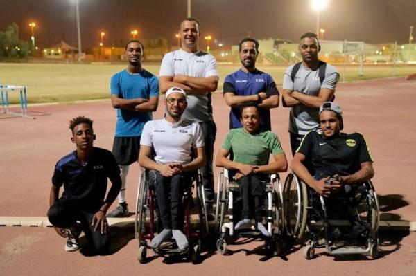 المنتخب السعودي لألعاب القوى للإعاقة.