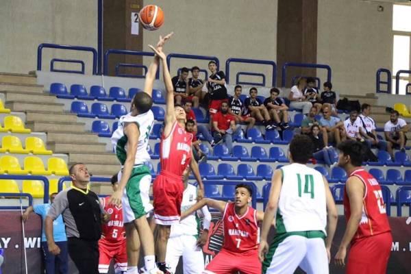 أخضر السلة للناشئين يتأهل للدور الثاني في البطولة العربية