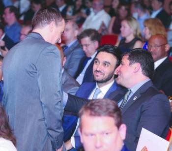الحفل شهد حضور الأمير عبدالعزيز بن تركي الفيصل.