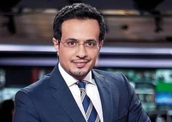المذيع السعودي عمر النشوان