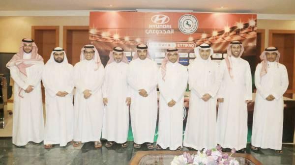 الدبل وأعضاء مجلس الإدارة الجديد.