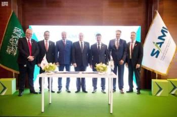 توقيع الاتفاقية لبناء قطاع صناعات عسكرية قوي وديناميكي ومستدام في السعودية.