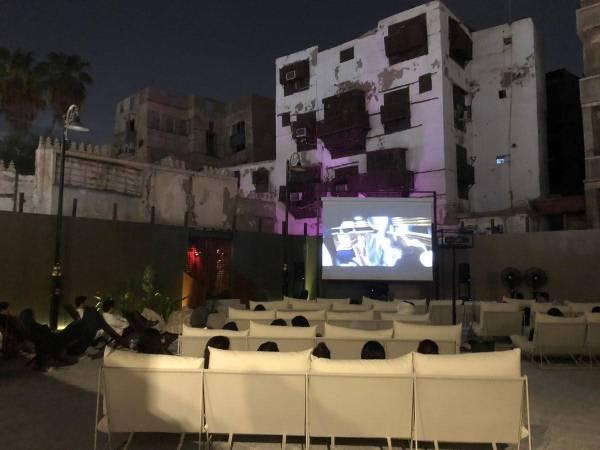 من قلب جدة التاريخية.. افتتاح «سينما الحوش» بعرض لفيلم «Space Odyssey»