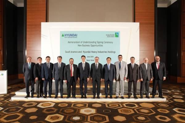 أرامكو توقع 12 اتفاقية مع كبرى الشركات الكورية الجنوبية