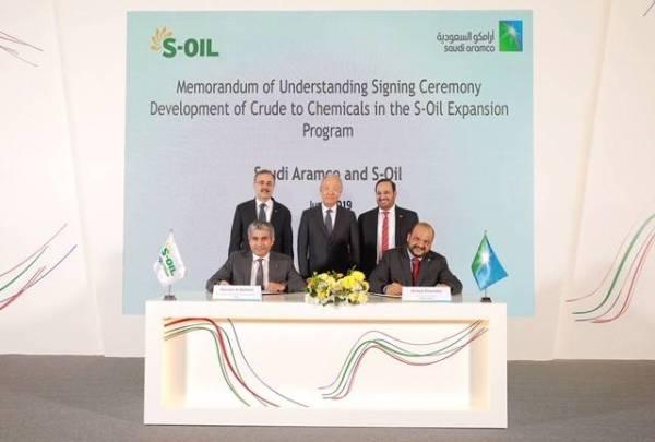 «أرامكو»: توسعة مصفاة S-OIL يعزز إستراتيجيتنا في قطاع الكيميائيات