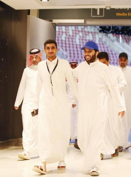 تركي آل الشيخ يقف على الاستعدادات النهائية لـ «ليلة سهم»