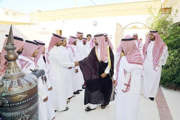 نائب أمير حائل يعزّي أسرة الشبلي في فقيدتهم - أخبار السعودية   صحيفة عكاظ