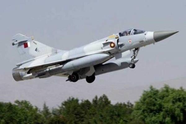 «الخيل من خيّالها».. طائرتان عسكريتان قطريتان تصطدمان جواً