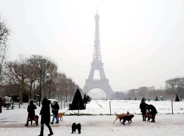 ستختفي الثلوج من برج إيفل.